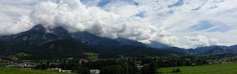FOTKA - Jezero Ritzensee a vyhlídka Kühbühel - Panorama Kamenného moře