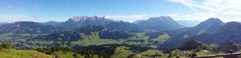 FOTKA - Výšlap k Wildseelodersee - Panorama údolí