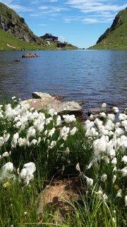 FOTKA - Výšlap k Wildseelodersee - Pohled přes jezero