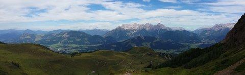 FOTKA - Výšlap k Wildseelodersee - Panrama okolí