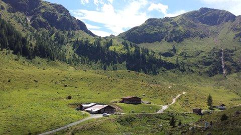 FOTKA - Výšlap k Wildseelodersee - Ještě jeden pohled zpátky