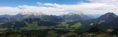 FOTKA - Výšlap k Wildseelodersee - Pohled do údolí