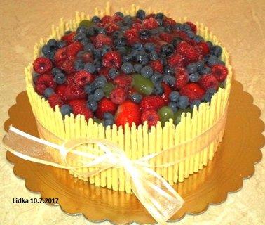 FOTKA - ovocný dortíček