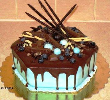 FOTKA - politý čokoládou