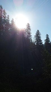 FOTKA - Výšlap na Steinalm - Proti slunci