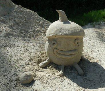 FOTKA - sochy z písku v Lednici 2017