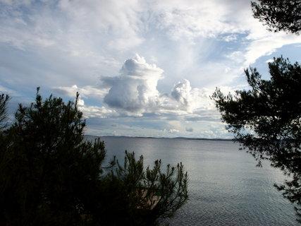 FOTKA - Krásné mraky nad mořem