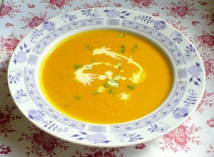 FOTKA - Dýňovočočková polévka