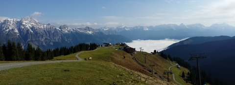 FOTKA - Z Asitz na Geierkogel - Pohled do údolí