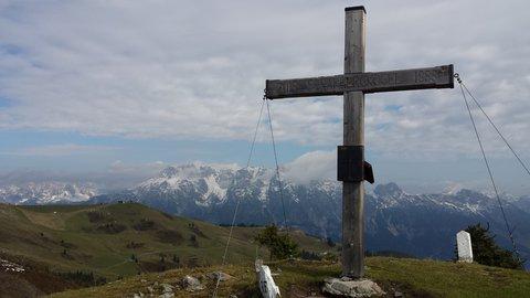 FOTKA - Z Asitz na Geierkogel - Kříž na Scharberkogel
