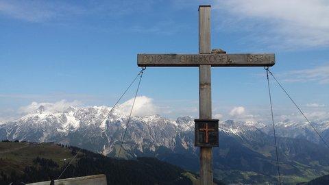 FOTKA - Z Asitz na Geierkogel - Kříž na Geierkogel
