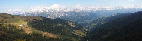 FOTKA - Z Asitz na Geierkogel - Pohled na údolí