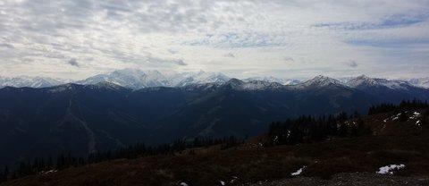 FOTKA - Z Asitz na Geierkogel - Okolní kopce
