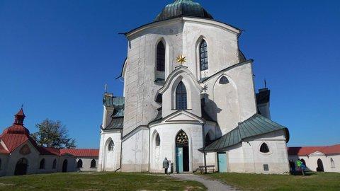 FOTKA - Poutní kostel sv. Jana Nepomuckého na Zelené hoře