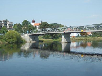 FOTKA - Vltava a most v Kamýku nad Vltavou
