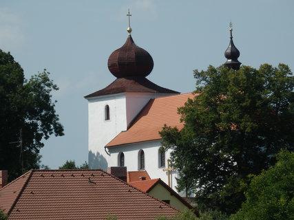 FOTKA - kostel v Kamýku nad Vltavou