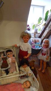 FOTKA - vysoká panenka, vyšší jak 4 leté dítě