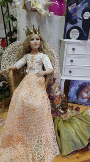 FOTKA - princezna se zlatou korunkou