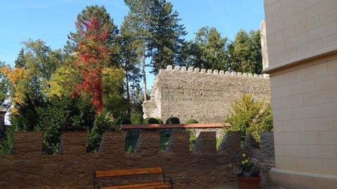 FOTKA - zámecké hradby