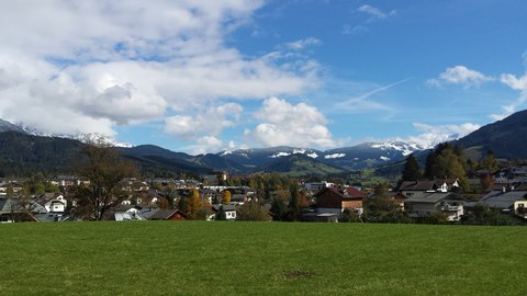 FOTKA - Hezký podzimní den na Ritzensee - Část Saalfeldenu
