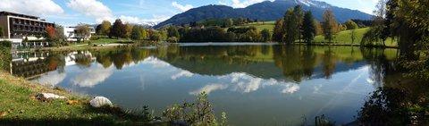 FOTKA - Hezký podzimní den na Ritzensee - Panorama Ritzensee