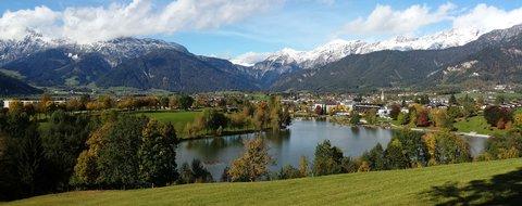 FOTKA - Hezký podzimní den na Ritzensee - Panorama Ritzensee podzimního