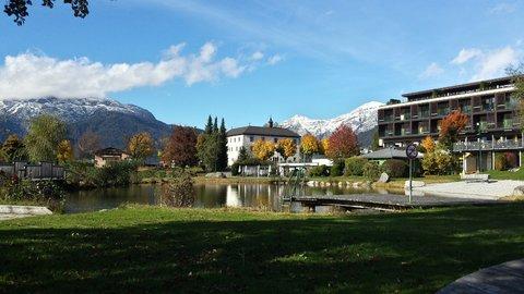 FOTKA - Hezký podzimní den na Ritzensee - Opuštěné koupaliště