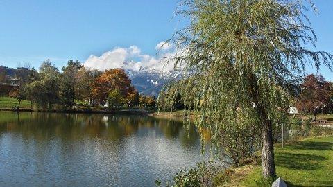 FOTKA - Hezký podzimní den na Ritzensee - Vrba u jezera