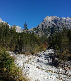 FOTKA - Podzimní procházka k Triefen - Koryto potoka