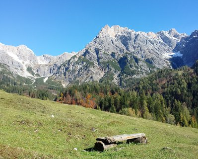 FOTKA - Podzimní procházka k Triefen - Odpočinek v horách