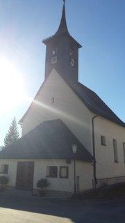 FOTKA - Podzimní procházka k Triefen - Kostel proti slunci