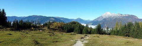 FOTKA - Podzimní procházka na Steinalm - Pohled zpátky