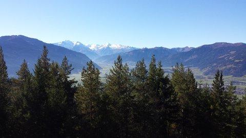 FOTKA - Podzimní procházka na Steinalm - Pohled k Zell am See a Kitzsteinhornu