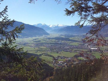 FOTKA - Podzimní procházka na Steinalm - Pohled do údolí