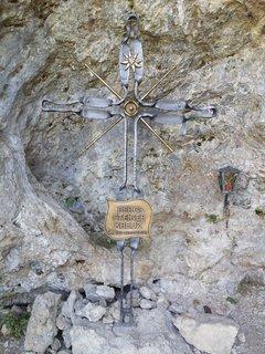 FOTKA - Podzimní procházka na Steinalm - Horský kříž