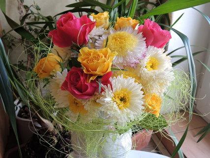 FOTKA - narozeninová kytice ze zahrádky