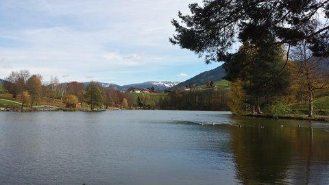 FOTKA - Podzimní procházka okolo Ritzensee - Podzim na Ritzensee