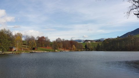FOTKA - Podzimní procházka okolo Ritzensee - Podzimní Ritzensee