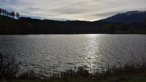 FOTKA - Podzimní procházka okolo Ritzensee - Klid u jezera