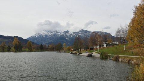 FOTKA - Podzimní procházka okolo Ritzensee - U jezera