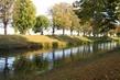 Hradecká řeka a podzim
