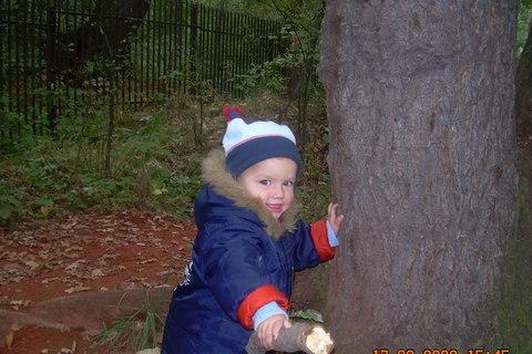 FOTKA - Ládíček v lese