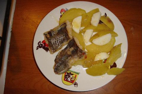 FOTKA - ryba s bramborem - včerejší večeře