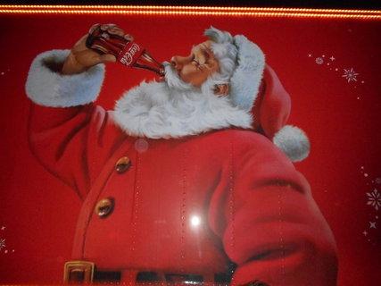 FOTKA -  Vánoční Santa Claus a coca cola