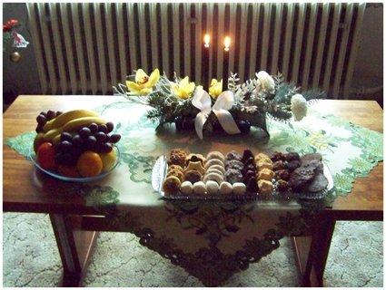 FOTKA - konfer.stolek v obýváku