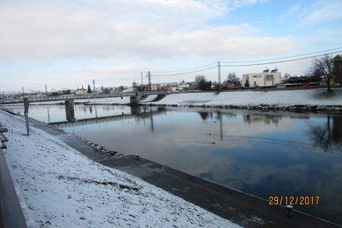 FOTKA - 29.prosince u řeky Moravy