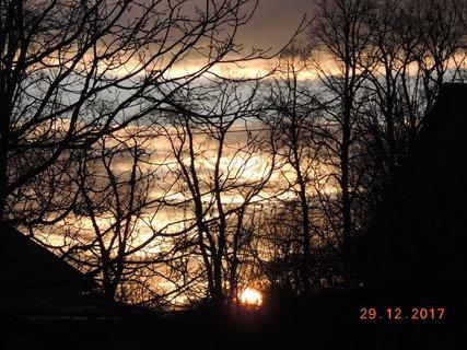 FOTKA - Barvy oblohy na konci prosince