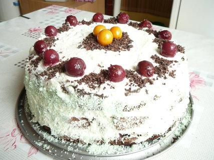 FOTKA - švarcvaldský dort