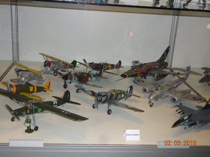 FOTKA - Několik modelů bojových letadel