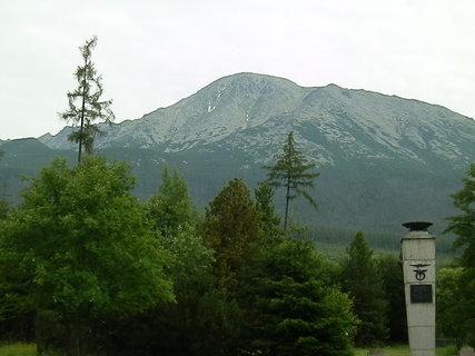 FOTKA - Slavkovský štít (2452 m n.m.) - pohľad od hotela